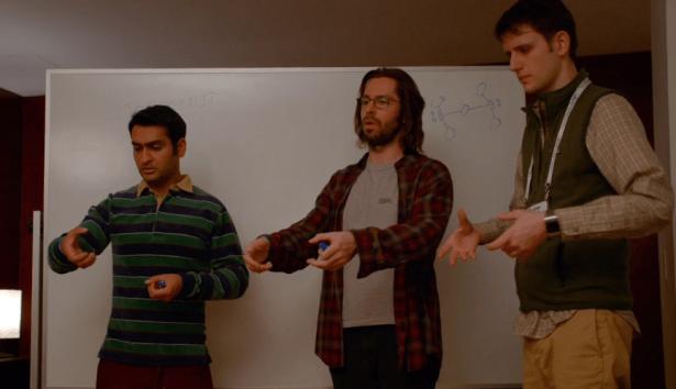 """The orgasm threshold is a function of lambda sub-i…"" (Screengrab via HBO)"