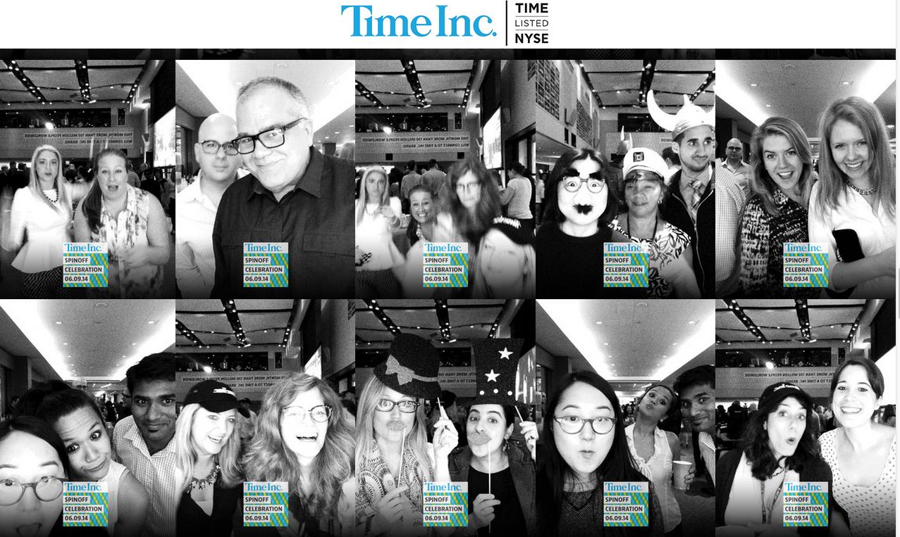 Time Inc. Spinoff Celebration