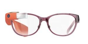 Shiny Elderberry frame with red Glass. (Photo via Marchon Eyewear)