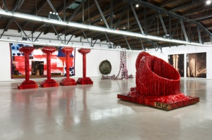 'Sterling Ruby: Sunrise Sunset' at Hauser & Wirth, through July 27, 2014. (Courtesy Hauser & Wirth)