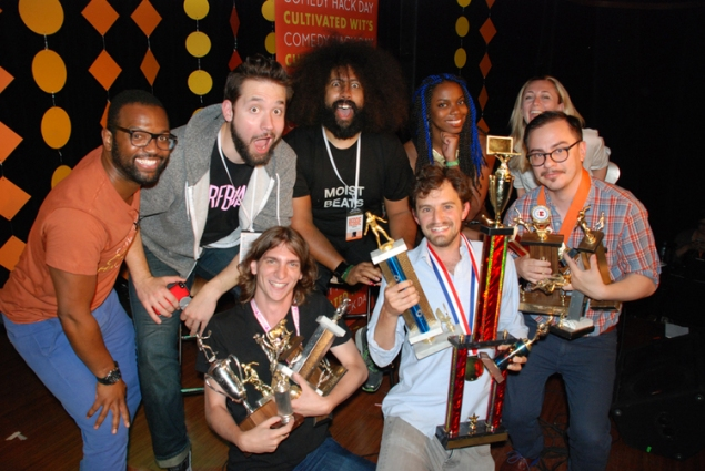 Timesify team wins Comedy Hack Day