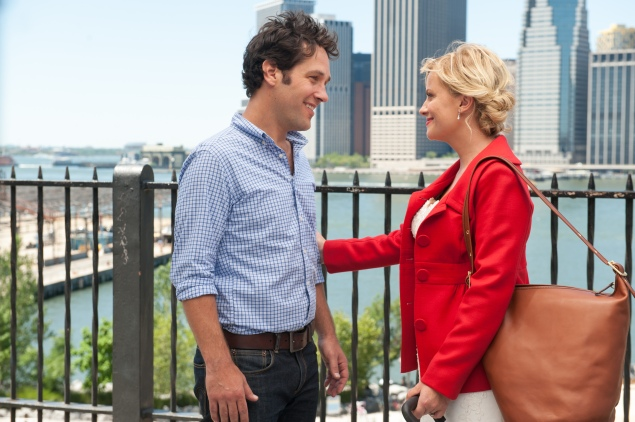 Paul Rudd and Amy Poehler in They Came Together.