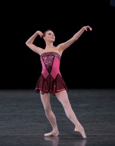 Tiler Peck in 'Who Cares?' (Photo by Paul Kolnik Choreography/© The George Balanchine Trust)