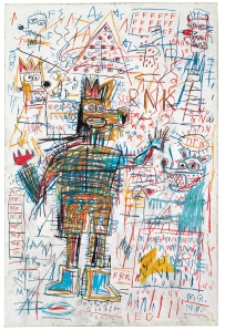 'Untitled' (1982) by Basquiat. (The Estate of Jean--Michel Basquiat / ADAGP, Paris / ARS, New York 2014)