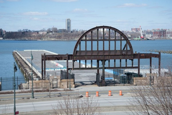 The pier. (Photo by Timothy Schenck, courtesy Friends of the High Line)