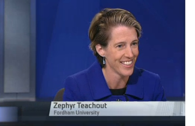 Zephyr Teachout. (Screengrab: NY1)