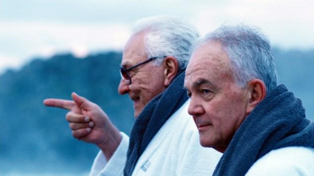 Earl Lynn Nelson, left, and Paul Eenhoorn.
