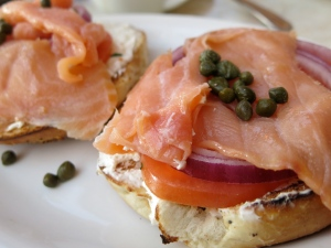 A Denver bagel shop thinks the secret ingredient in New York bagels is the tap water (Torbakhopper/ Flickr Creative Commons)