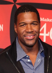 Michael Strahan will help CareOne and HealthBridge stand up to cancer at Fenway Park. (Robin Marchant/Getty Images)