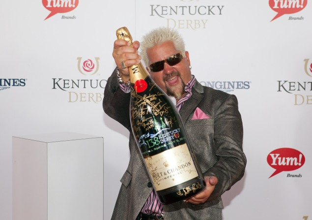 """Moet & Chandon """"Sign For The Roses"""", On The Red Carpet At The 138th Kentucky Derby At Churchill Downs On May 5, 2012 In Louisville, KY"""