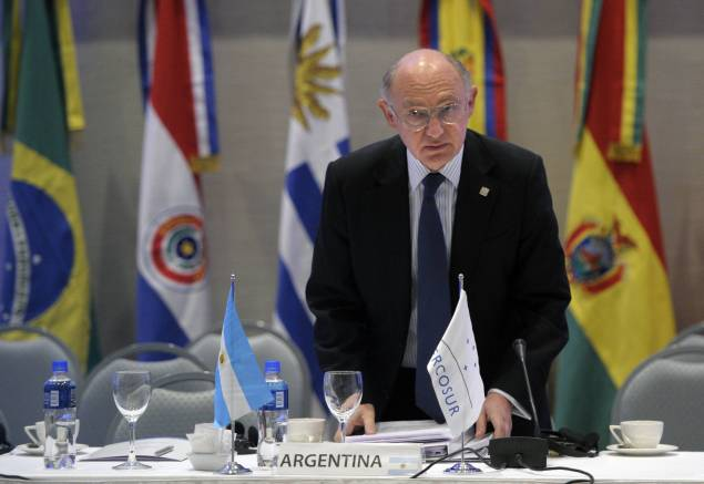 Argentine Foreign Affairs Minister Hecto