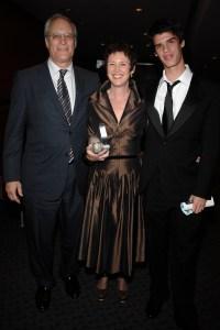 Paul Critchlow, Patricia McCormick and Matt Critchlow. (Patrick McMullan)
