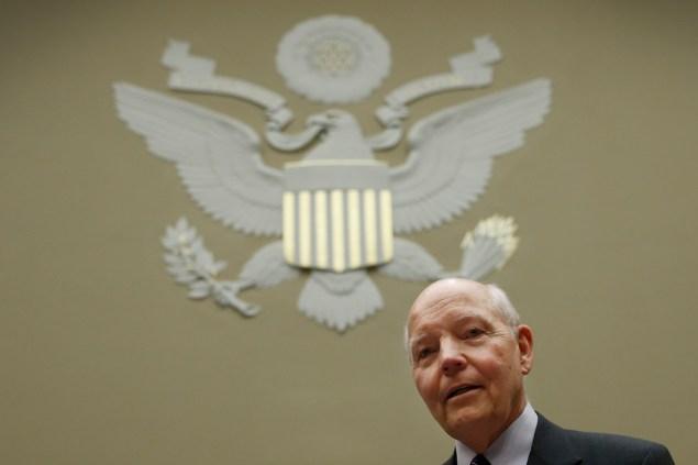 Commissioner of Internal Revenue John Koskinen (Photo via Getty Images)