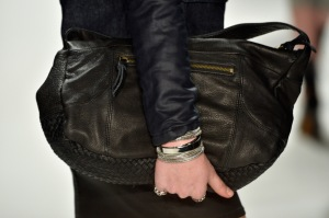Men's accessories on the runway are translating to the marketplace (Getty Images)