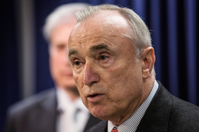NYPD Commissioner Bill Bratton. (Photo: Andrew Burton/Getty Images)