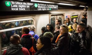 The 4, 5, and 6 trains are Manhattan's busiest (Photo by Andrew Burton/Getty Images).