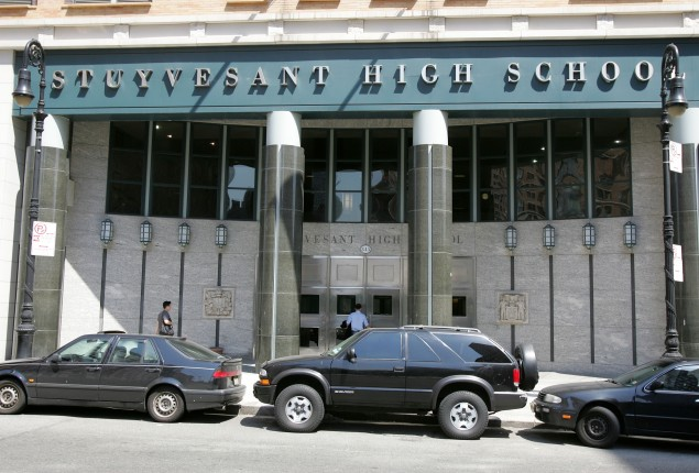 Stuyvesant High School (Photo via Getty Images)