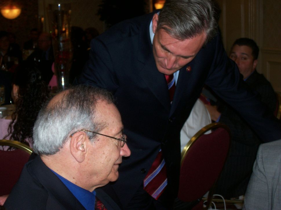 Andrews appeals to North Jersey Democratic boss Steve Adubato, Sr. in his ill-starred 2008 bid for U.S. Ssenate. Unlike 1997 when he at least had Hudson, Andrews in his senate bid could not land a single northern county party line.