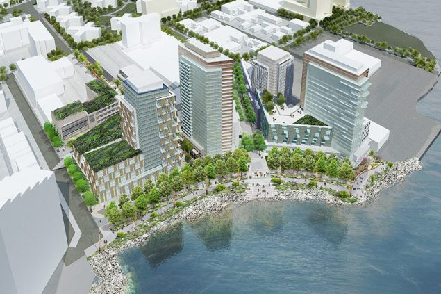 Astoria Cove rendering by STUDIO V.