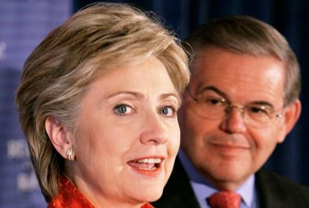 A top Clinton campaign fundraiser says Bob Menendez would make an ideal candidate for Vice President