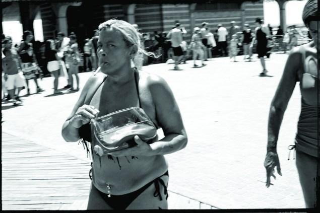 Dress on the boardwalk is resolutely casual. (Celeste Sloman)