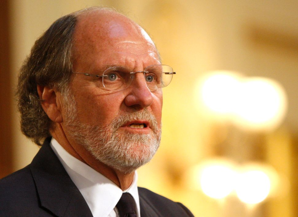 Gov. Jon Corzine gives his final State of the State Address, Trenton, N.J., Jan. 12, 2010. After losing his re-election bid, Corzine became CEO of MF Global. Less than two years later, the firm declared bankruptcy amid a funds-mingling scandal.