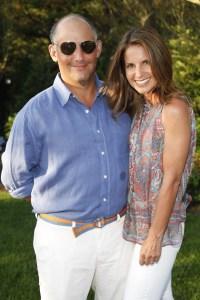 David and Danielle Ganek. (Patrick McMullan)