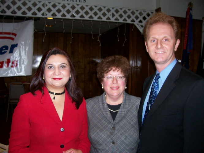 The Democratic slate in the politically competitive 14th district will be Seema Singh for State Senate, and Linda Greenstein and Wayne D'Angelo for State Assembly