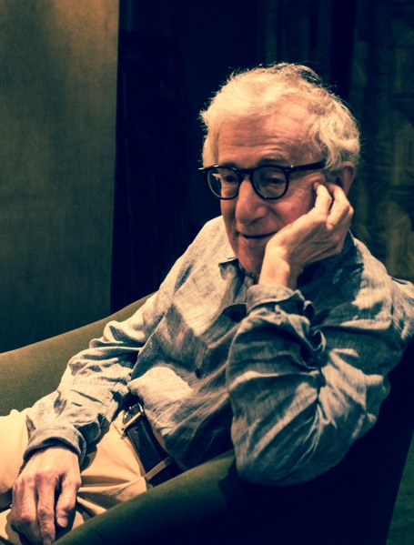 Woody Allen CREDIT: Emily Assiran/New York Observer