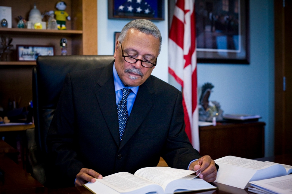 Judge Emmet G. Sullivan Won't Stand for Shenanigans and Tomfoolery. (Photo Credit DOMINIC BRACCO II)