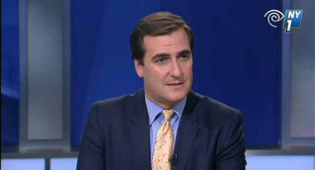 Mike Gianaris on NY1 (Screengrab: NY1).