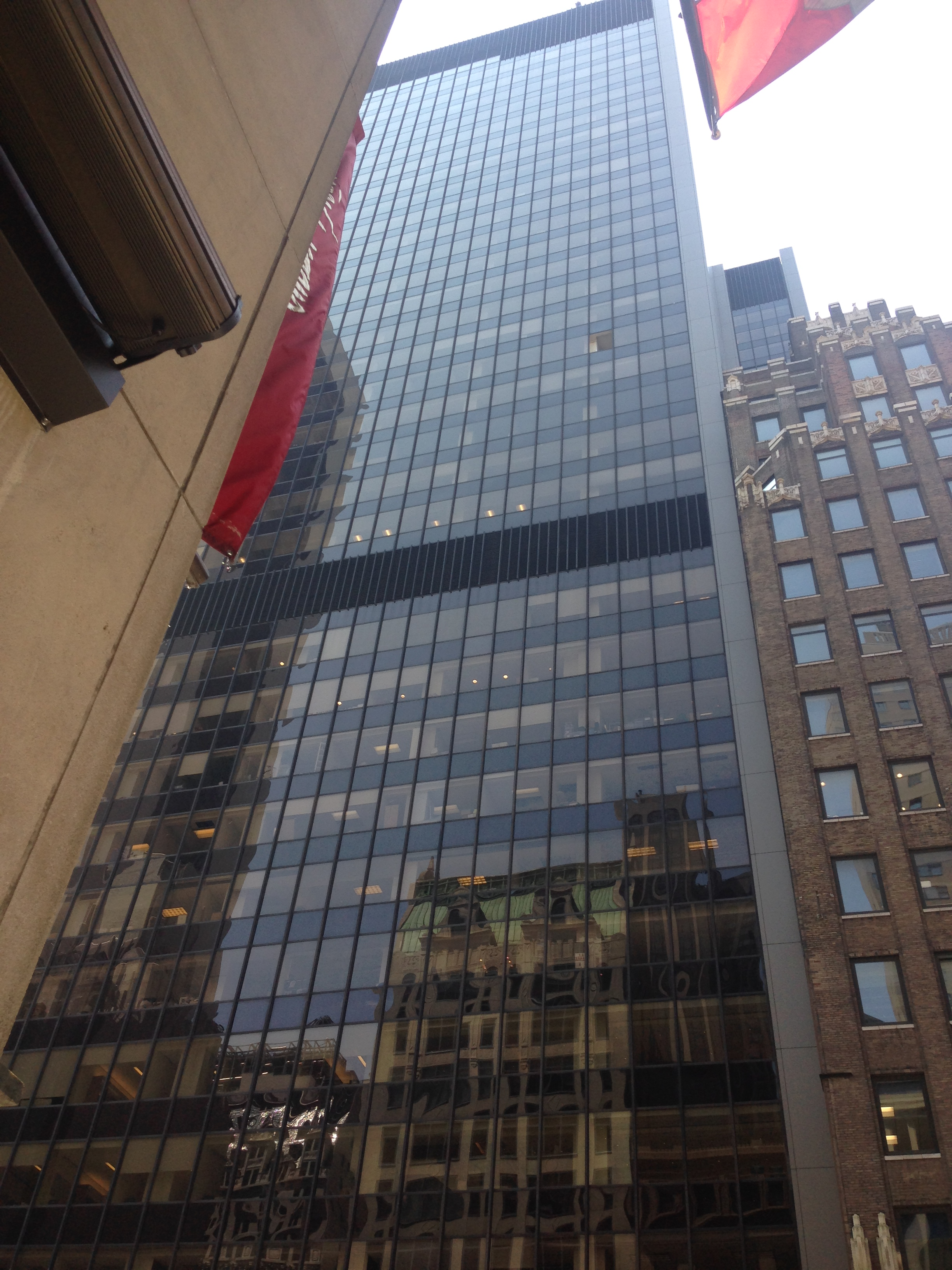 The LeFrak Organization building (Photo: Esti Jungreis)