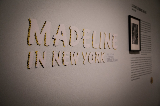 "The beginning of the ""Madeline in New York"" exhibit at the New-York Historical Society. (Kaitlyn Flannagan)"