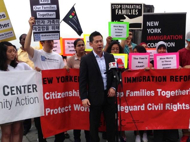 Steven Choi, Executive Director of the New York Immigration Coalition. (Photo: Paula Duran)