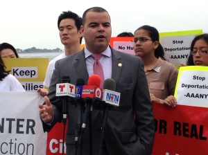 New York Assemblyman Marcos Crespo asked president Obama to act. (Photo:Paula Duran)