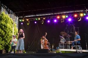 Lake Street Dive at Lowdown Hudson Blues Festival, July 2014. (Photo by Kaitlyn Flannagan)