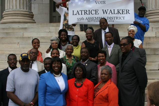 A panoply of politicians came out for Latrice Walker (Photo: Brad Groznik