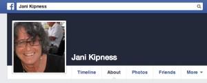 Jani Kipness, not a Palestinian. (Facebook)