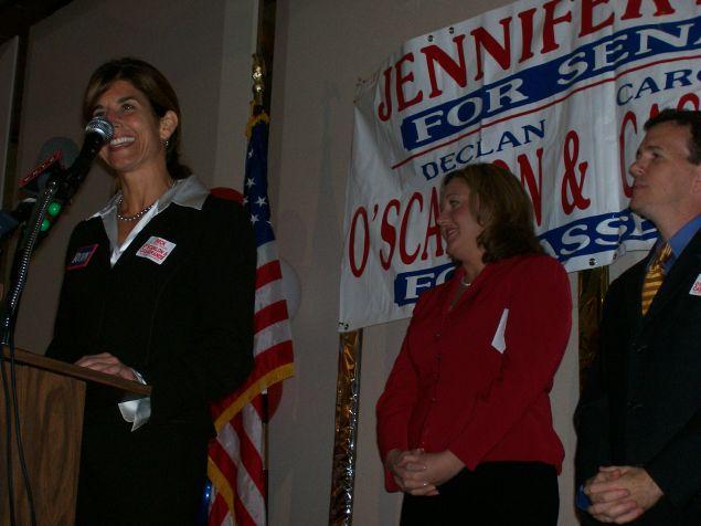 State Senator Jennifer Beck in 2007.