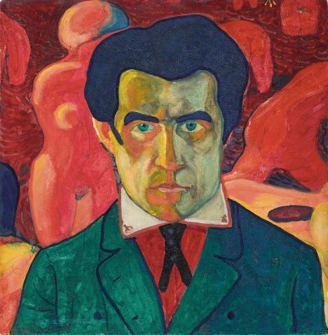 Kazimir Malevich, 'Self Portrait,' 1908-1910. (Courtesy of Tate Modern).