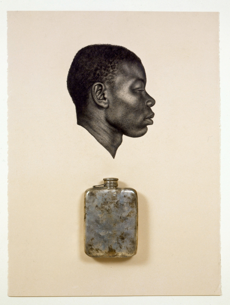 Kin IX (To Make Your False Heart True) by Whitfield Lovell (2008). Courtesy of the artist and DC Moore Gallery, New York.