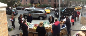 A Fresh FoodBox location at Lenox Hill. (Courtesy of GrowNYC)