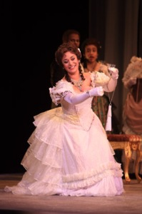 Cecilia Violetta Lopez in 'La Traviata.' (Photo by Jen Joyce Davis)