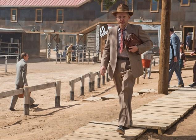 Frank Winter (John Benjamin Hickey) pretty much nailing the vibe of the show. (Photo via WGN)