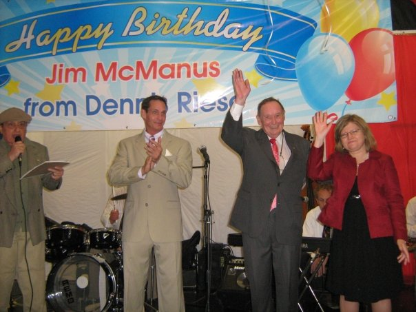 A birthday party for James McManus in 2009. (Photo: Facebook)