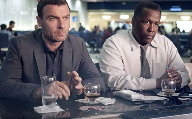 Why I oughta! Liev Schreiber acting in Ray Donovan.