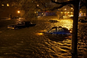 Hurricane Sandy, Alphabet City. (Matthew Kraus, flickr)