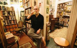 """I'm a secret bookstore"" (Courtesy of Michael Seidenberg Facebook page)"