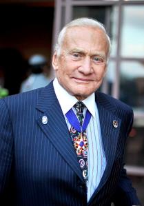 Buzz Aldrin. (Getty)