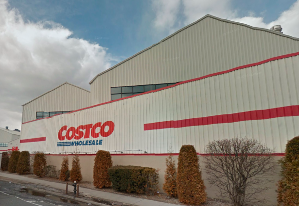 The Costco in Astoria, Queens, a.k.a. the home of all our future food. (Screengrab: Google Maps)